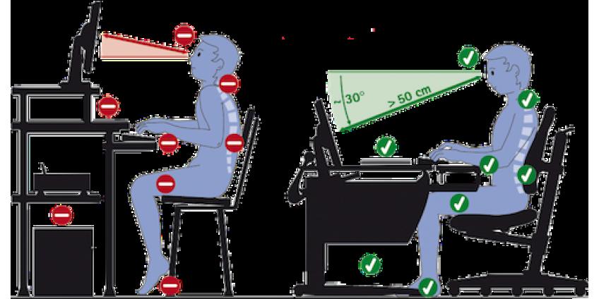 Как защитить свои глаза при долгом сидении за компьютером?