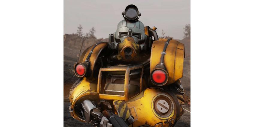 Как создать силовую броню, доспехи в Fallout 76. A Power Armor