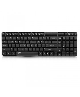 RAPOO WIRELESS KEYBOARD BLACK (Е1050)