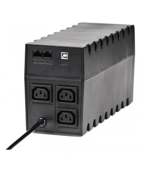 ИБП Powercom RPT-600AP, 3 x IEC, USB (00210195)