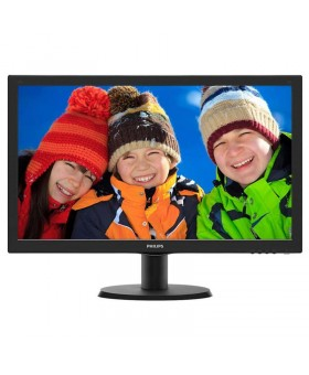 "Philips 23.6"" 243V5QSBA/01 MVA Black"