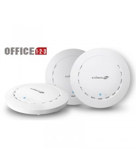 Комплект точек доступа Edimax Office 1-2-3 (3-pack, AC1300, PoE, Ceiling, 1xGE, Wave 2, MU-MIMO, Airtime Fairness, 26dBm)