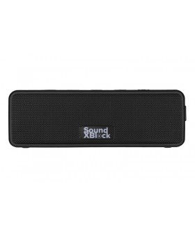 Акустическая система 2E SoundXBlock TWS MP3 Wireless Waterproof Black (2E-BSSXBWBK)
