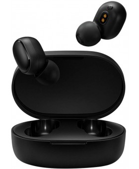Bluetooth-гарнитура Xiaomi Mi True Wireless Earbuds Basic S (AirDots S) Black (ZBW4502GL)